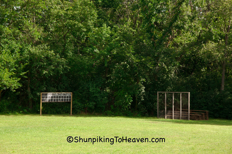 Old-Fashioned Baseball Field, Waukesha County, Wisconsin