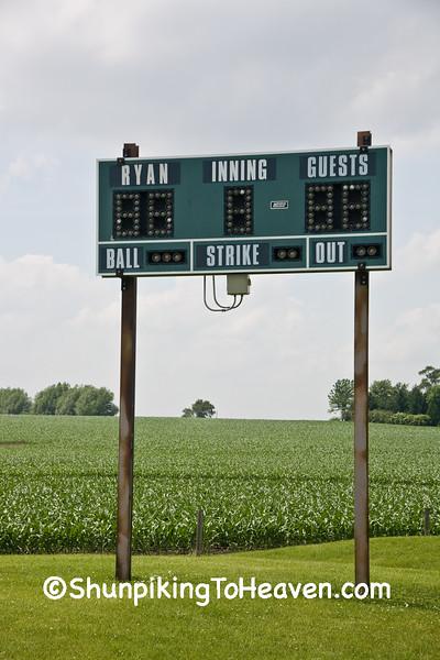 Baseball Scoreboard, Delaware County, Iowa