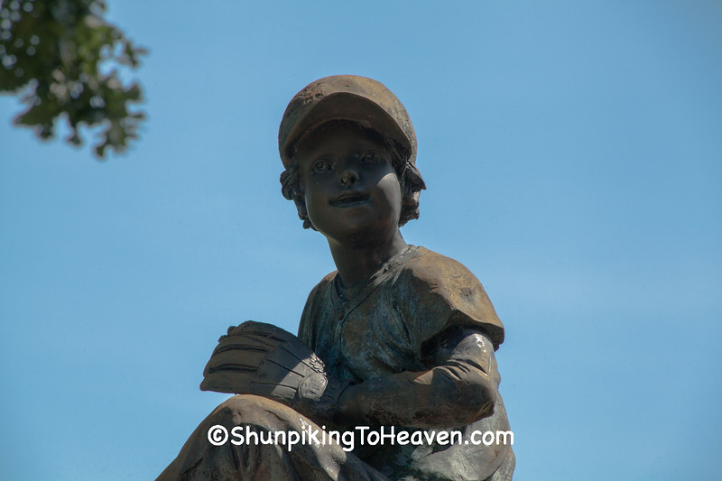 Baseball Pitcher Statue, Jefferson County, Wisconsin