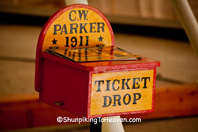 Ticket Drop Box for C. W. Parker Carousel, Waterloo, Wisconsin