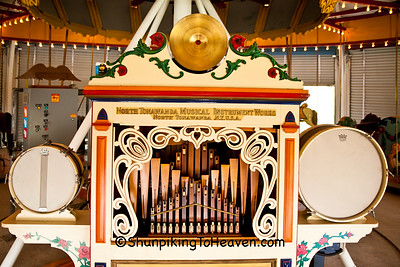Band Organ of the C. W. Parker Carousel, Waterloo, Wisconsin