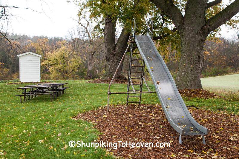 Old Slide, Halfway Prairie School, Dane County, Wisconsin