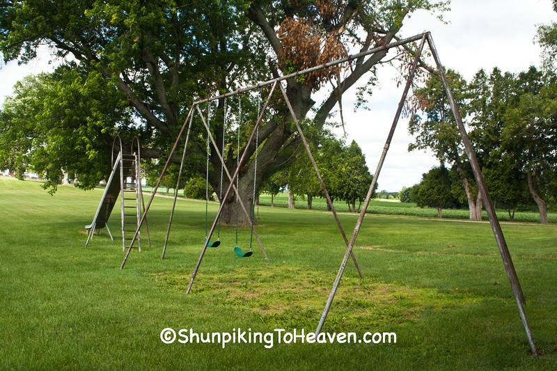 Playground Equipment at St. Joseph's, East Bristol, Wisconsin