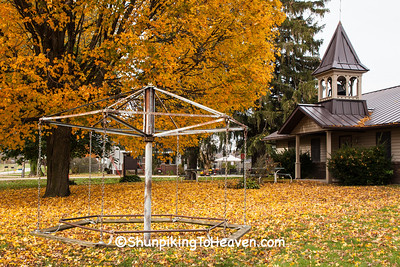 Old Fashioned Merry-Go-Round, Sauk County, Wisconsin