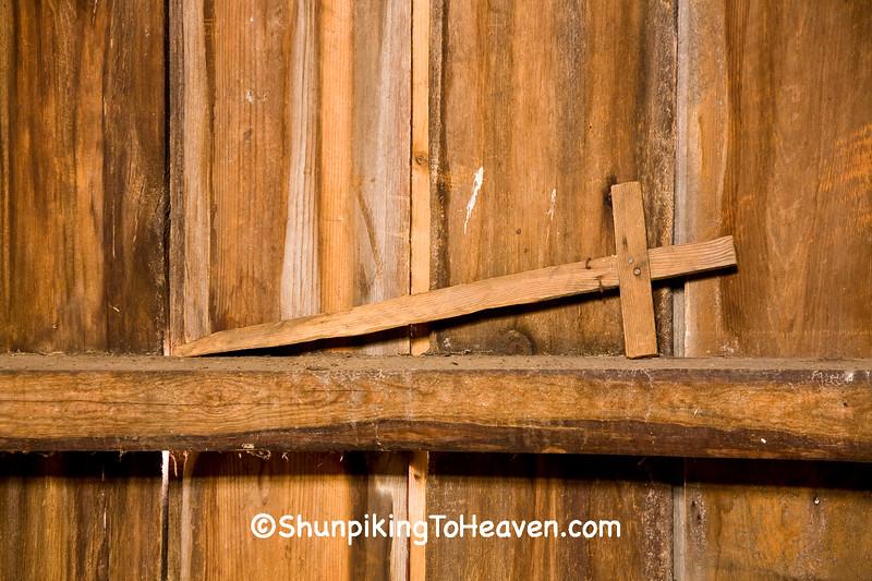 Child's Homemade Sword, Chickasaw County, Iowa