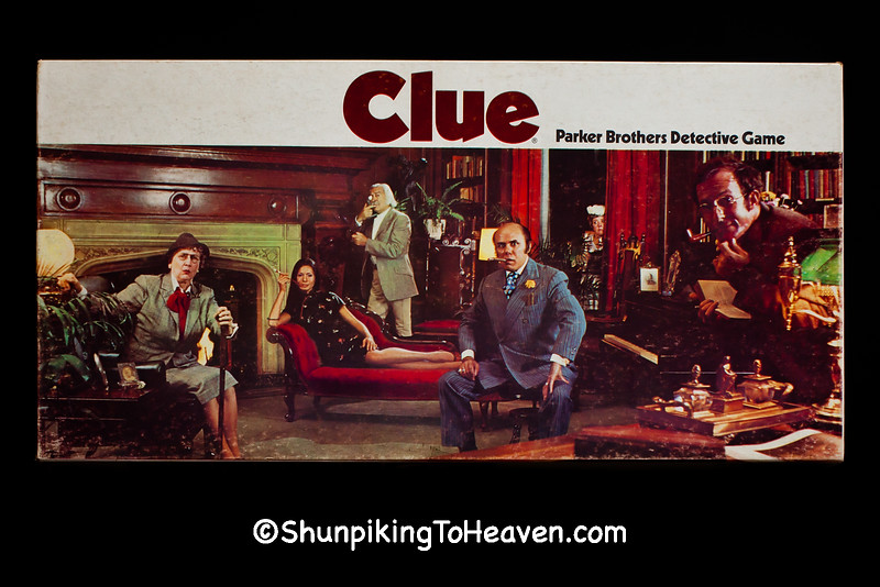 """""""Clue"""" Board Game from the 1970s, Dane County, Wisconsin"""
