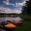 Kayaks at Lake Norman