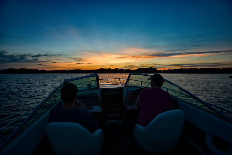 A Sunset Boat Ride on Lake Norman