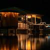 Neighbors Dock at Night Closeup