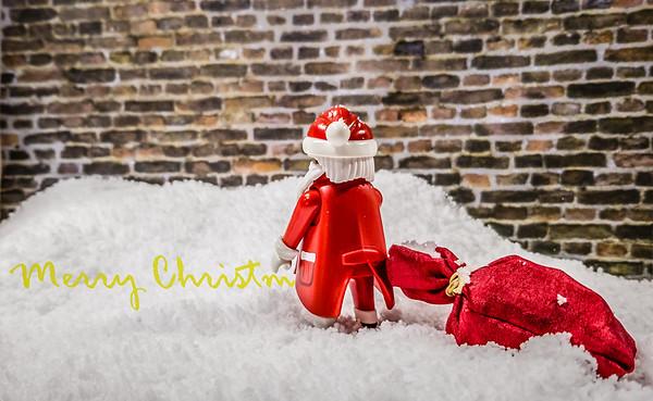 Naughty Playmobil Santa