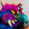 Playmobil jackhammering wart off of My Pet Monster