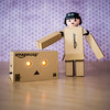 Exposed! Danbo (Danboard) is really Playmobil, Yotsuba&! cardboard box robot.