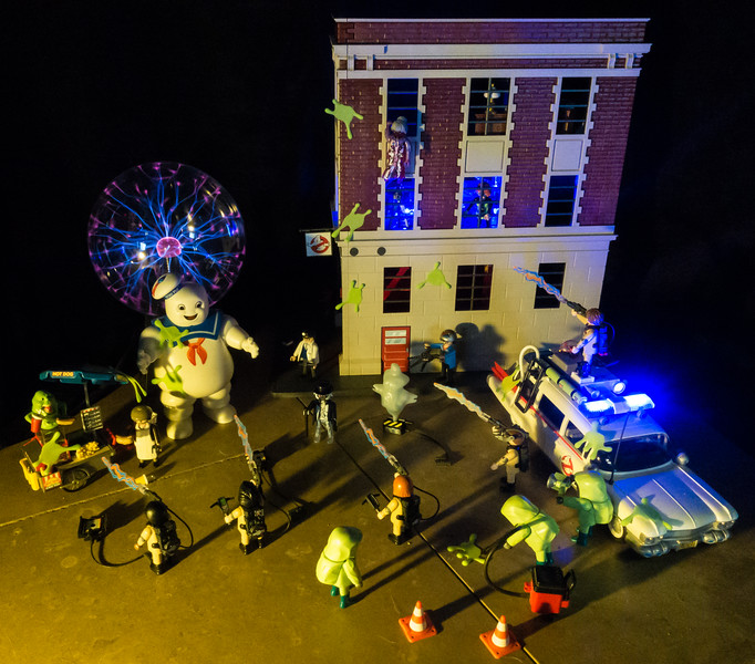 Playmobil Ghostbusters on the Scene