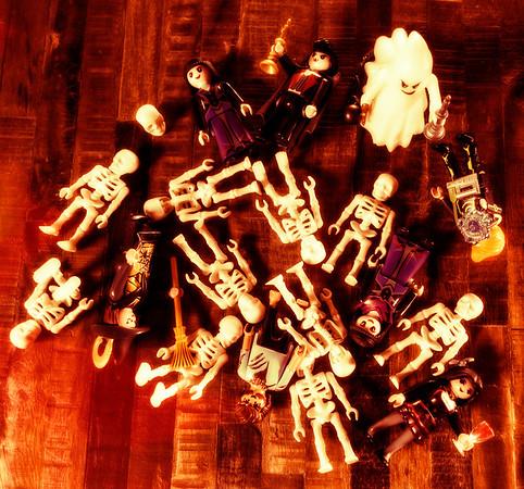 Playmobil Halloween Deconstructed