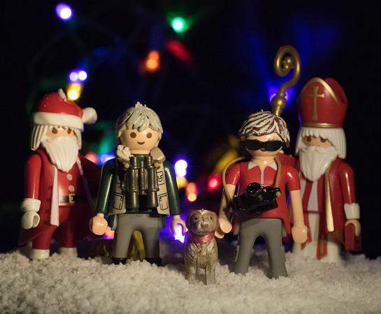 Hans-Werner, Jaypeg, Margy, Santa Claus, Saint Nicolas, Christmas Eve 2016