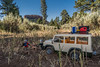 Playmobil mini-me's. Bears Ears, Bears Ears National Mounument, Manti La Sal National Forest, San Juan Co., Utah USA