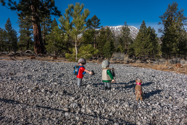 Playmobil Explorers. Mono Craters, Mono Co., California CA United States
