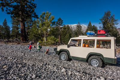 Playmobil Explorers. Mono Craters, Mono Co., California CA United States