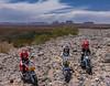 Easy Rider Playmobil, Monument Valley, San Juan Co., Utah USA