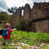 Playmobil photographer. Old Glory Mill, Pajarito Wilderness, SantaCruz Co. Arizona