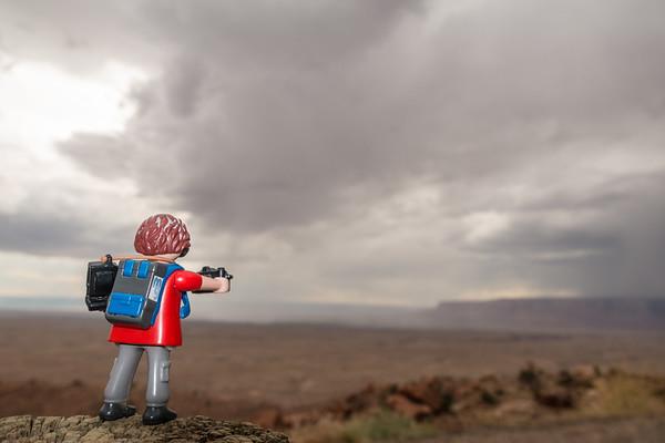playmobil photographer. Page, Arizona