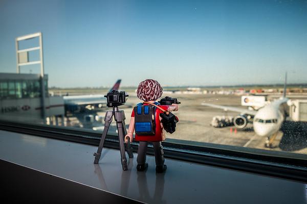 Playmobil at JFK Airport. New York, New York USA
