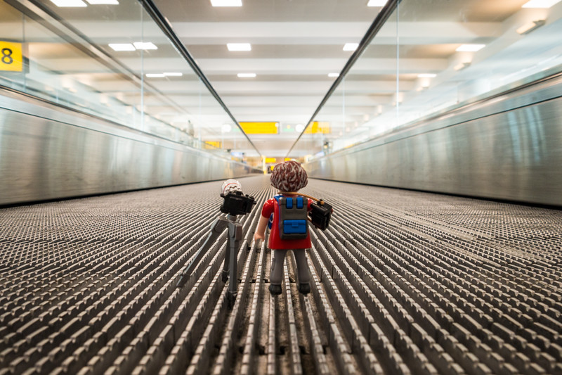 Playmobil at JFK Airport. New York, New York USA