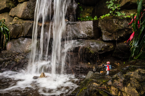 Waterfall. Madison County Nature Trail, Huntsville, Alabama USA