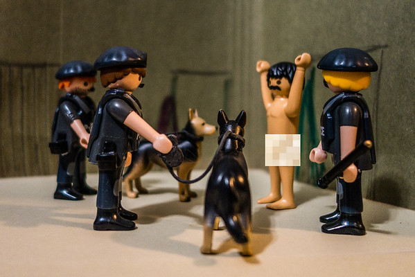 Playmobil CIA Torture Series: Attack Dogs