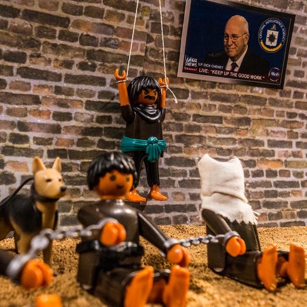 Playmobil CIA Torture Series: Just hanging around