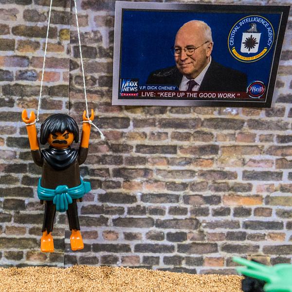 Playmobil CIA Torture Series: Prolonged Hanging