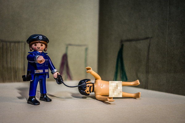 Playmobil CIA Torture Series: Naked on a Leash