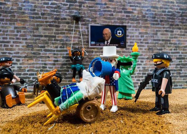 Playmobil CIA Torture Series: