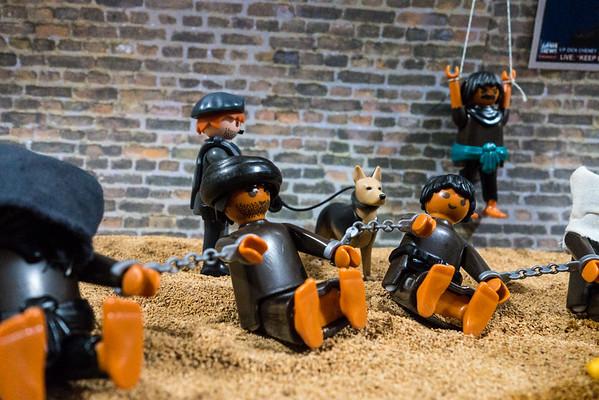 Playmobil CIA Torture Series: Captive Fellowship