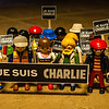 Playmobil Je Suis Charlie Ralley in support of Charlie Hebdo