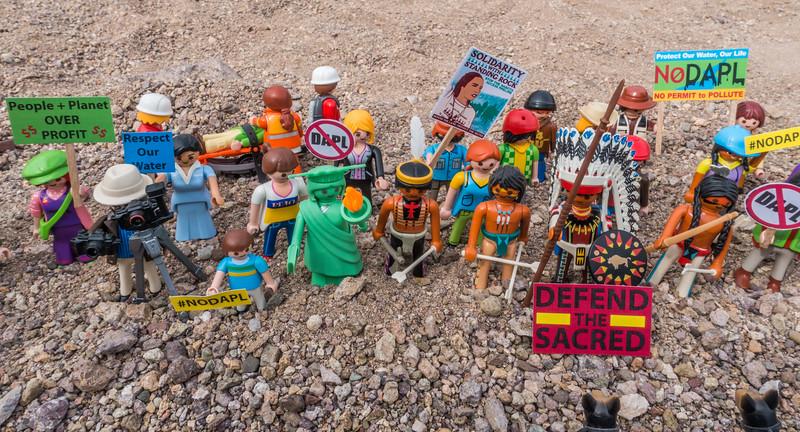 protestors. Anti-DAPL (Dakota Access Pipeline) protests. Standing Rock Indian Reservation, Cannon Ball, North Dakota USA
