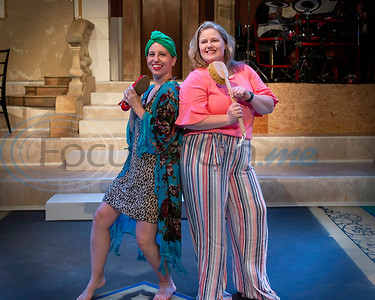 Dress Rehearsal for Mama Mia!  Tanya Skowen, Beck Bloomfield  (Don Spivey/FocusInOn.me)