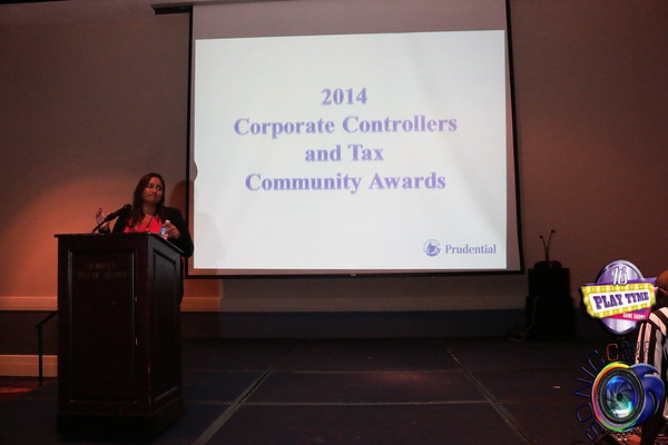 OCTOBER 2ND, 2014: 2014 PRUDENTIAL CORPORATE CONTROLLERS AND TAX COMMUNITY AWARDS @ THE ROBERT TREAT HOTEL W/ IT'S PLAYTYME