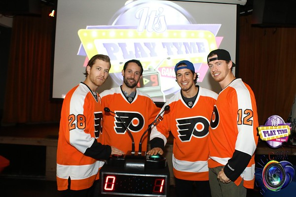 OCTOBER 5TH, 2015: PHILADELPHIA FLYERS DROP PUCK PARTY @ XFINITY W/ IT'S PLAYTYME