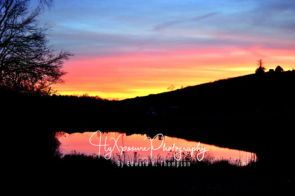 Pleasant Hills Sunset.....