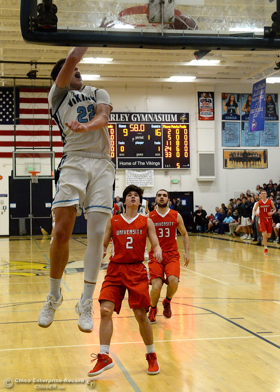 . during Pleasant Valley High School playoff basketball at Varley Gymnasium Tues. March 13, 2018.  (Bill Husa -- Enterprise-Record)