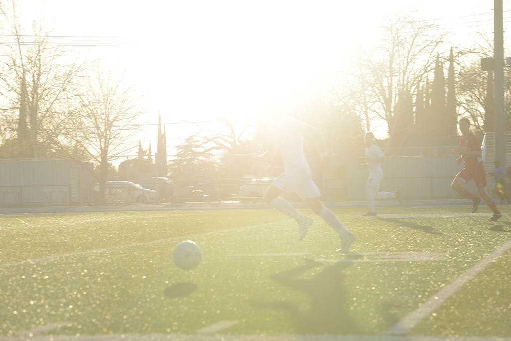 . Pleasant Valley High vs. University High Soccer, Thursday, March 8, 2018, in Chico, California. (Carin Dorghalli -- Enterprise-Record)