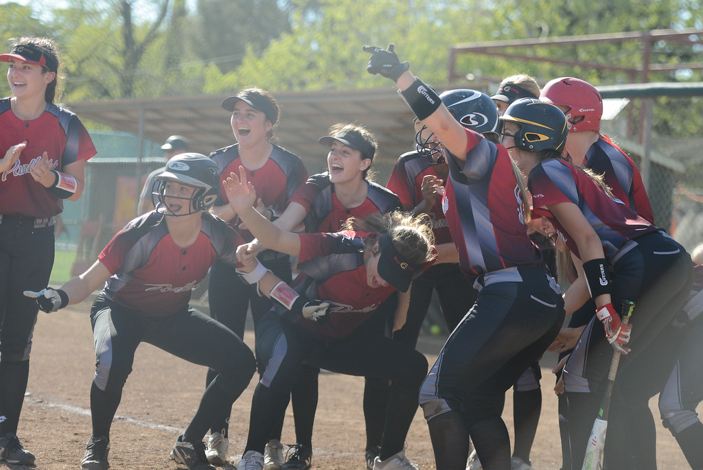 . Pleasant Valley High at Chico High softball, April 19, 2018, in Chico, California. (Carin Dorghalli -- Enterprise-Record)