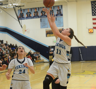 Pleasant Valley hosts Enterprise High girls basketball  Friday January 12, 2018 in Chico, California. (Emily Bertolino -- Enterprise-Record)