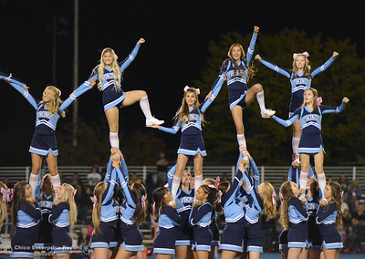 Pleasant Valley hosts Paradise High School football October 6, 2017 in Chico, California. (Emily Bertolino -- Enterprise-Record)