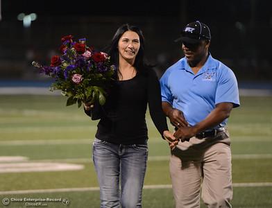 Pleasant Valley hosts Paradise High School football October 6, 2017 in Chico, California. (Emily Bertolino -- Enterprise-Record)