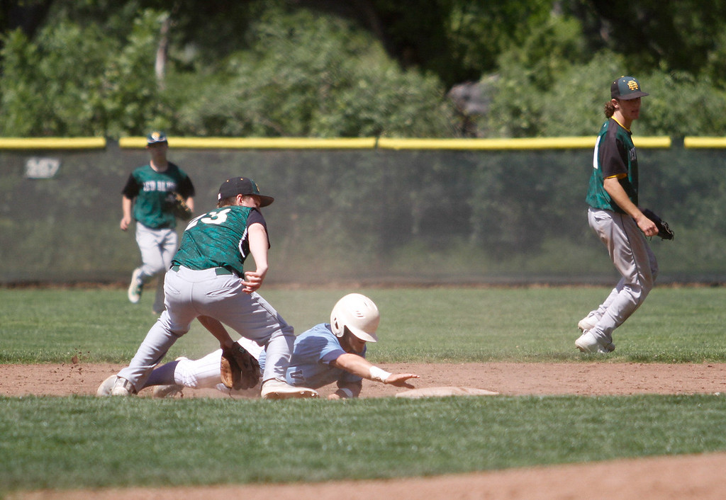. Pleasant Valley hosts Red Bluff in a doubleheader baseball game Tuesday April 18, 2017 at Doryland Field in Chico, California. (Emily Bertolino -- Enterprise-Record)