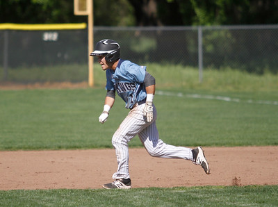 Pleasant Valley hosts Red Bluff in a doubleheader baseball game Tuesday April 18, 2017 at Doryland Field in Chico, California. (Emily Bertolino -- Enterprise-Record)