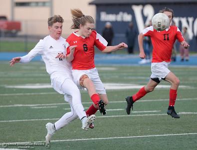 Pleasant Valley vs. Foothill boys soccer