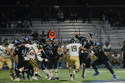 Semi final Northern Section Division II football playoff game, Saturday, Nov. 24, 2018, at Asgard Yard in Chico, California. (Carin Dorghalli -- Enterprise-Record)